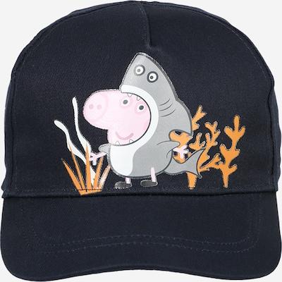 NAME IT Cap 'PEPPA PIG' in saphir / grau / orange / rosa / weiß, Produktansicht