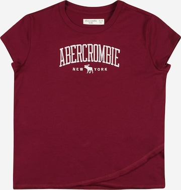 Abercrombie & Fitch Shirt 'MAY' in Rot