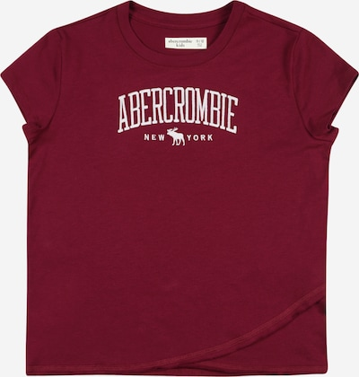 Abercrombie & Fitch Shirt 'MAY' in bordeaux, Produktansicht