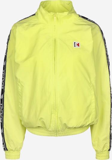 Karl Kani Trainingsjacke 'OG Tape OS' in gelb / schwarz / weiß, Produktansicht