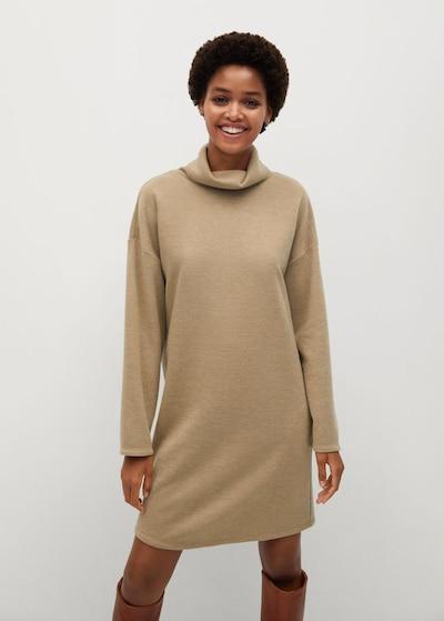 MANGO Kleid 'Maxime' in beige, Modelansicht