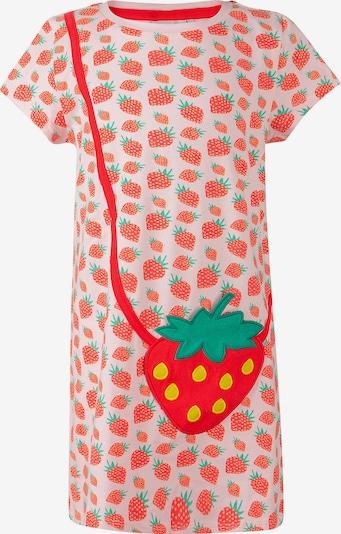 happy girls Kinder Kleid in pink: Frontalansicht