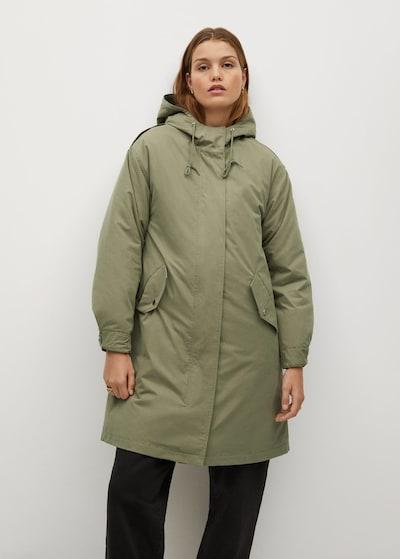 MANGO Зимно палто 'Pumkins' в Каки, Преглед на модела