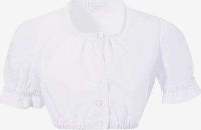 H.Moser Trachtenbluse in weiß, Produktansicht