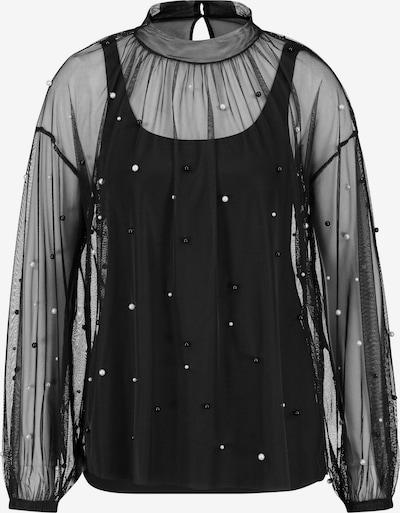 TAIFUN Blusenshirt in schwarz, Produktansicht