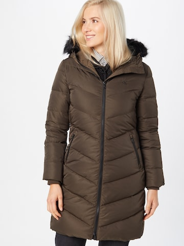ruda Calvin Klein Jeans Žieminis paltas