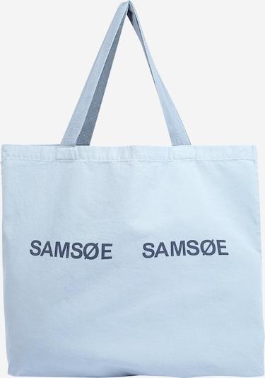 Samsoe Samsoe Torba shopper 'Frinka' w kolorze gołąbkowo niebieski / jasnoniebieskim, Podgląd produktu