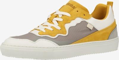 SANSIBAR Baskets basses en jaune / gris / blanc, Vue avec produit