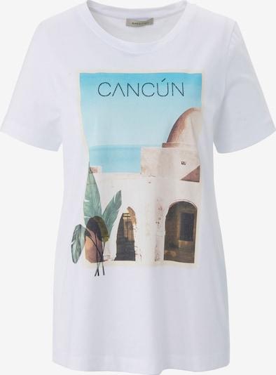 MARGITTES Shirt in mischfarben / weiß, Produktansicht