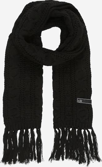 Calvin Klein Écharpe en noir, Vue avec produit