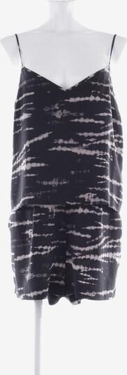 All Saints Spitalfields Jumpsuit in M in grau / schwarz, Produktansicht
