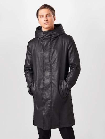 Demisezoninis paltas 'SECSET' iš DRYKORN , spalva - juoda, Modelio vaizdas