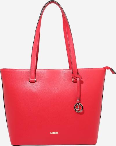 L.CREDI Shopper 'Filippa' in rot, Produktansicht
