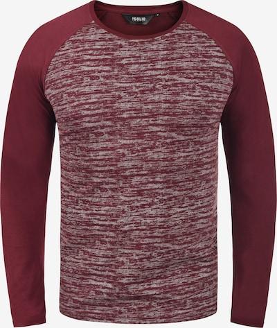 !Solid Langarmshirt 'Mevan' in rot, Produktansicht