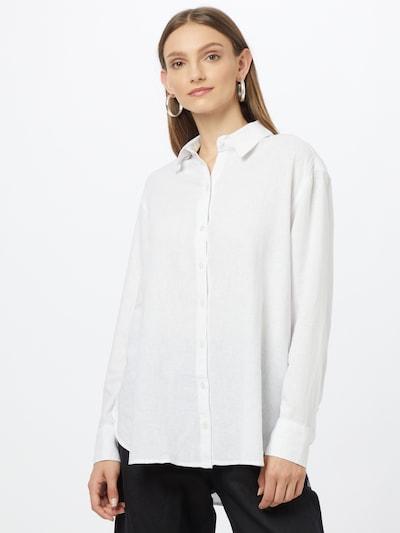 Abercrombie & Fitch Bluse in weiß, Modelansicht