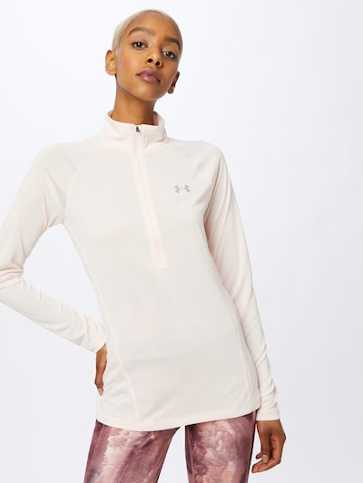 UNDER ARMOUR Funktionsshirt in rosa: Frontalansicht