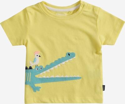 STACCATO T-Shirt en moutarde / jade / rose clair / noir / blanc, Vue avec produit
