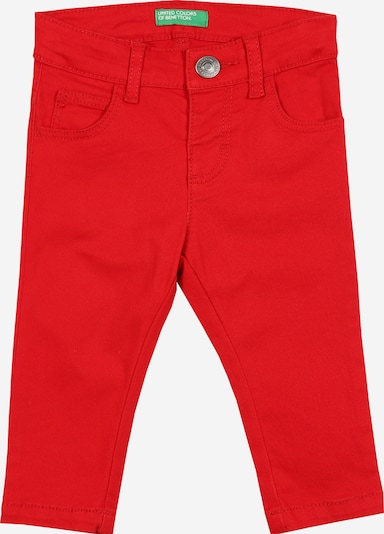UNITED COLORS OF BENETTON Hose in rot, Produktansicht
