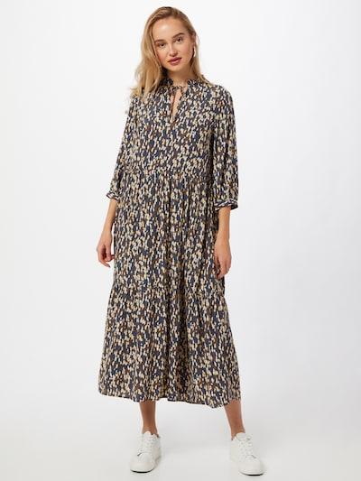 Suknelė iš Marc O'Polo DENIM, spalva – smėlio spalva / tamsiai mėlyna / ruda, Modelio vaizdas