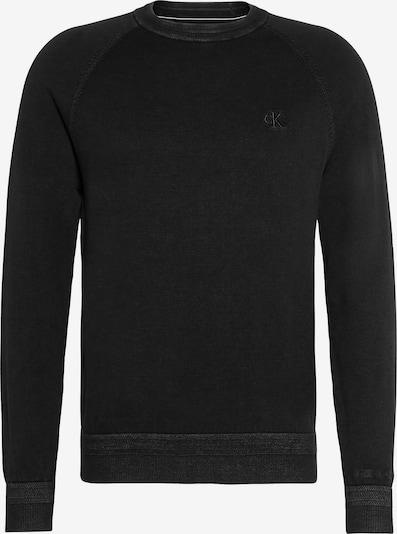 Calvin Klein Jeans Pull-over en noir, Vue avec produit