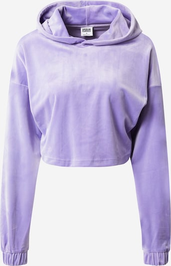 Urban Classics Sweat-shirt en lilas, Vue avec produit