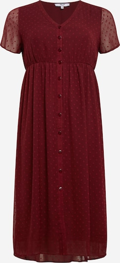 ABOUT YOU Curvy Robe 'Grace Dress' en bordeaux, Vue avec produit
