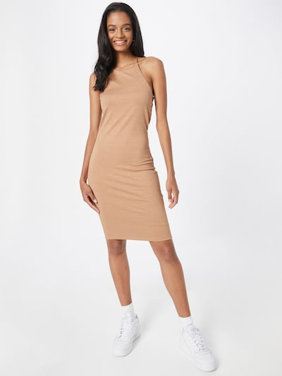 Gina Tricot Kleid 'Serena' in hellbraun, Modelansicht