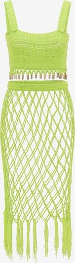 MYMO Top und Rock in neongelb / neongrün, Produktansicht