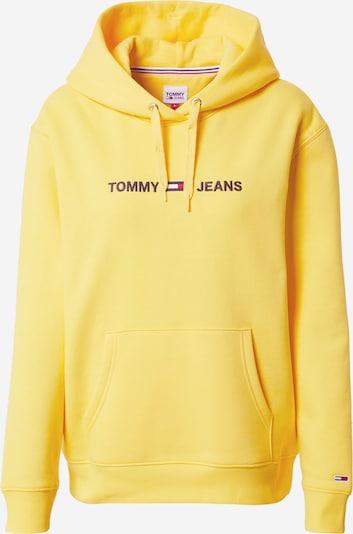 Tommy Jeans Sweat-shirt en marine / jaune / rouge / blanc, Vue avec produit