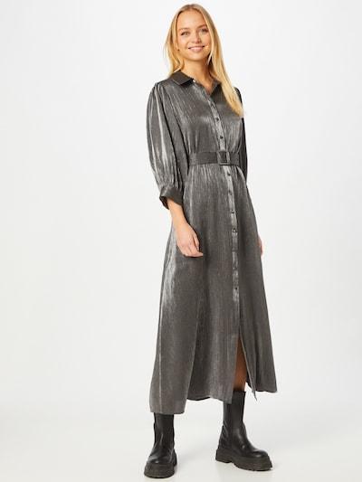 SELECTED FEMME Shirt Dress 'ELKE-FLORENTA' in Silver, View model