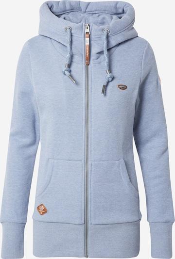 Ragwear Veste de survêtement 'NESKA' en bleu fumé, Vue avec produit