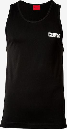 HUGO Shirt in schwarz / weiß, Produktansicht