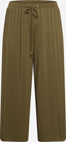 Pantaloni 'Caren' de la ABOUT YOU Curvy pe verde