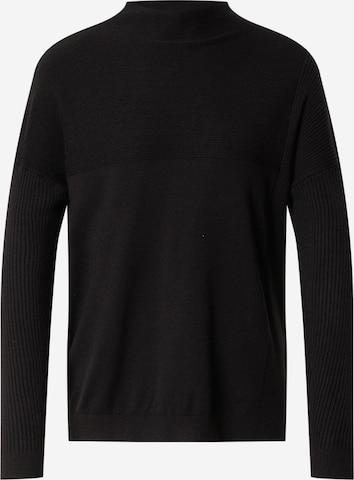 Fransa Sweater in Black
