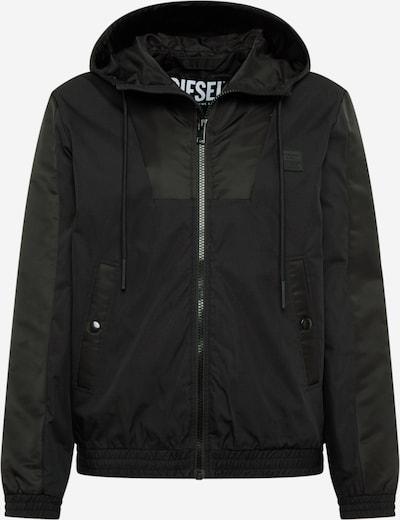 DIESEL Prijelazna jakna u crna, Pregled proizvoda