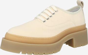 Scarpa stringata di Y.A.S in beige