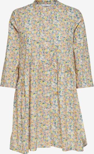ONLY Kleid 'ONLCHICAGO' in gelb / orange / weiß, Produktansicht