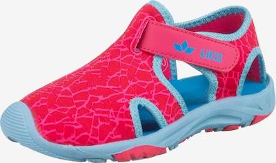 LICO Badeschuhe 'Lembata V' in neonblau / pink, Produktansicht