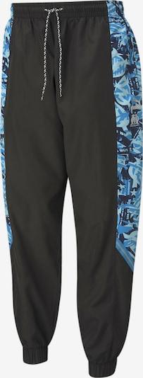 PUMA Sporthose 'OM TFS' in blau / grau / schwarz, Produktansicht
