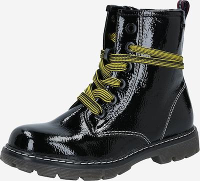 TOM TAILOR Stiefelette in gelb / schwarz, Produktansicht