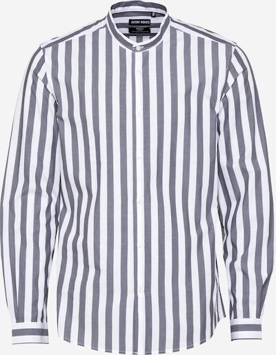 ANTONY MORATO Hemd 'SEOUL' in grau / weiß, Produktansicht