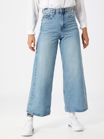 Dr. Denim Jeans 'Aiko' i blue denim, Modelvisning