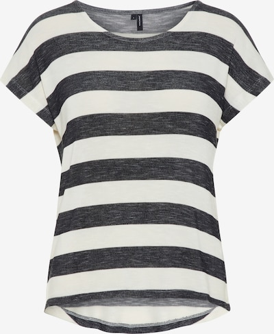 Vero Moda Petite Shirt in Black / Nature white, Item view