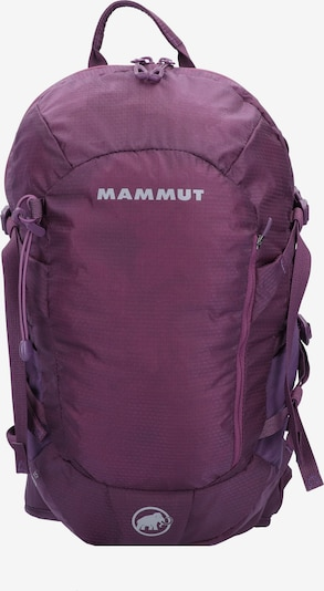 MAMMUT Sports Backpack 'LITHIA SPEED 15L' in Grey / Purple, Item view
