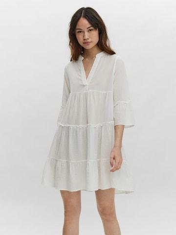 VERO MODA Shirt dress 'VMHELI' in White