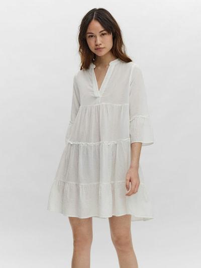 VERO MODA Kleid 'VMHELI' in weiß, Modelansicht