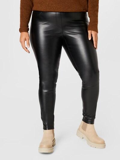SAMOON Hose in schwarz, Modelansicht