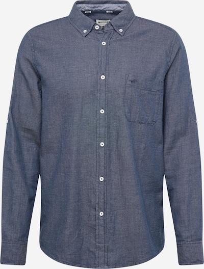 MUSTANG Hemd in blau / weiß, Produktansicht