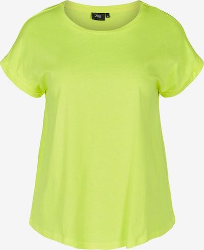 Zizzi Tričko 'Mkatja' - neónovo žltá, Produkt
