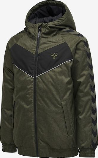 Hummel Jacket in grün, Produktansicht